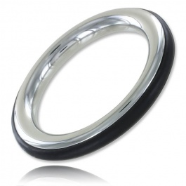 COCKRING METAL ET SILICONE...