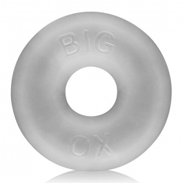 BIG OX FAT DONUT COCKRING SILICONA CLEAR