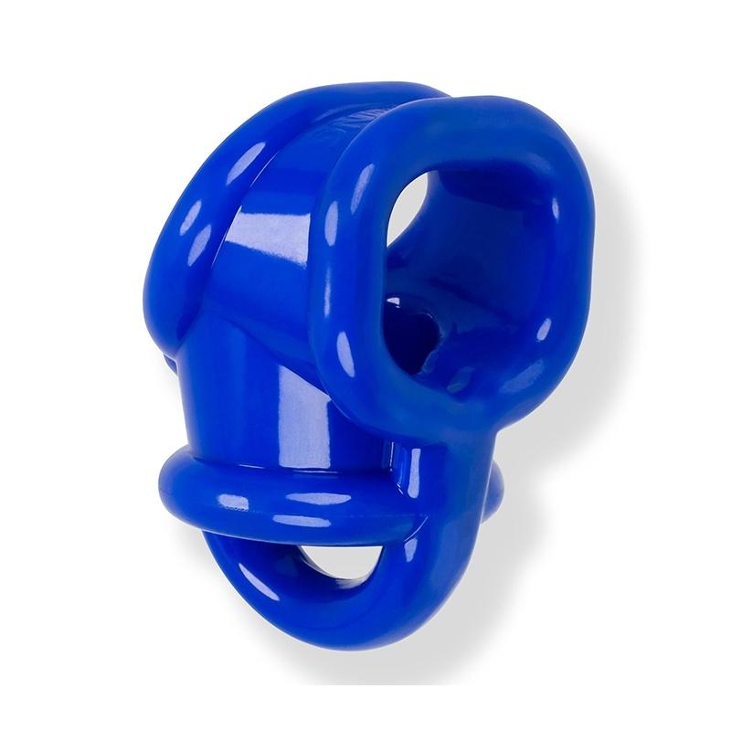 BALLSLING FLEX TPR BLUE COCKRING BALLSTRETCHER BY OXBALLS