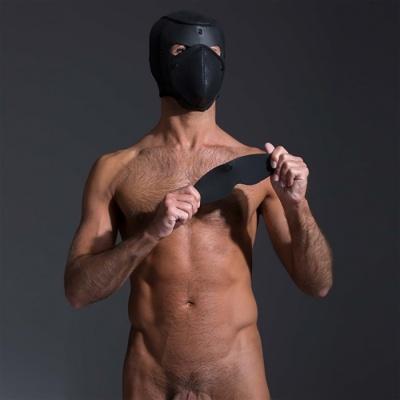 FETISH, BDSM, hard y BDSM, cagoules et masques, 665, Campanas y accesorios de neopreno