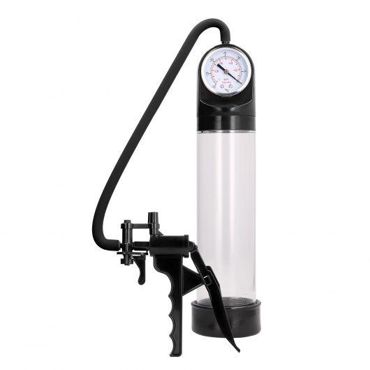 Elite Pump With Advanced PSI Gauge - Transparent
