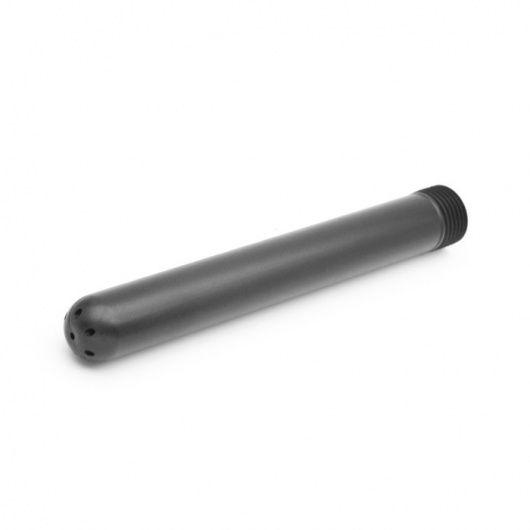 Cabeza de ducha anal en plástico negro