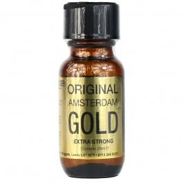 Poppers original amsterdam gold isopropyle 25 ml