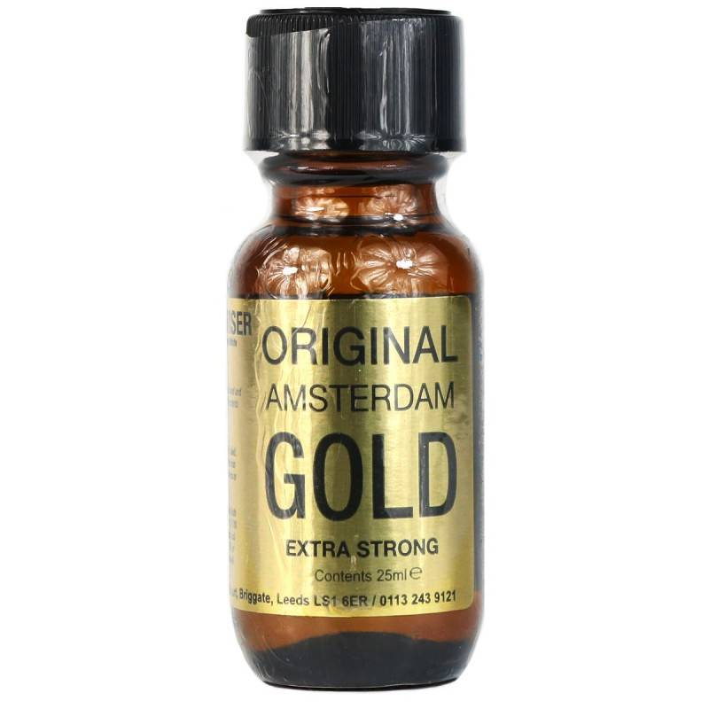 Poppers original amsterdam gold isopropyle