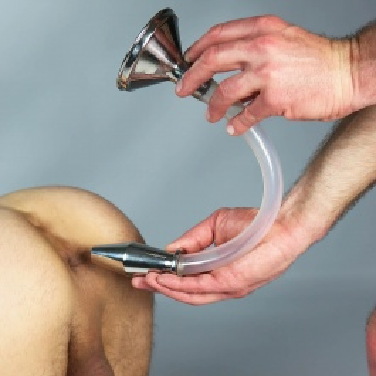 Plug anal, Juguetes sexuales anales, Plug en metal, Accesorios, Dark Line, Plugs Dark-Line, Plug túnel, Lluvia dorada