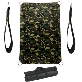 CAMOUFLAGE LEATHER SLING
