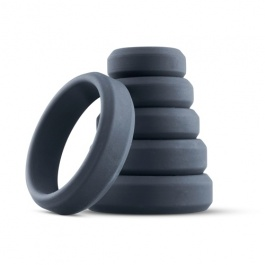 Set 6 Cockrings Silicone