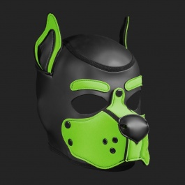 MR S LEATHER NEOPREN PUPPY MASKE K9 LINDGRUN