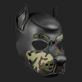 MR S Leather NEOPRENE HOOD K9 CAMO