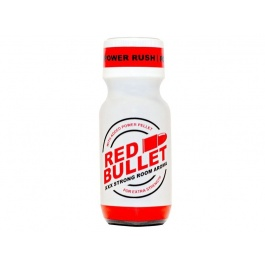 Red bullet poppers 25 ml