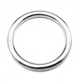 STAINLESS STEEL 6MM COCKRING ROUND WIRE