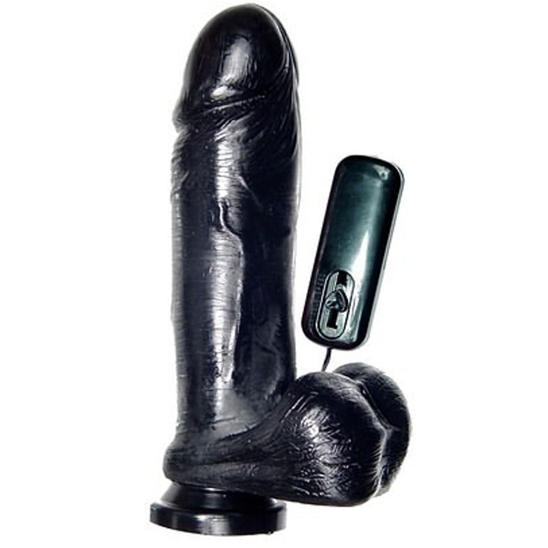 THICK VIBRATING DILDO W/ SUCTION CUP 23 CM by SI NOVELTIES