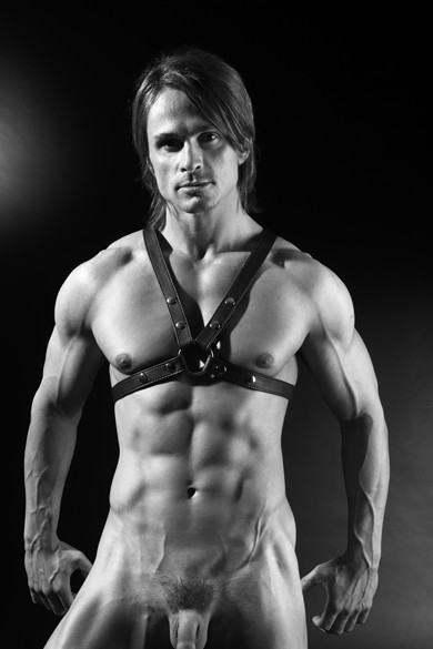 CHEST HARNESS LEATHER 25 MM