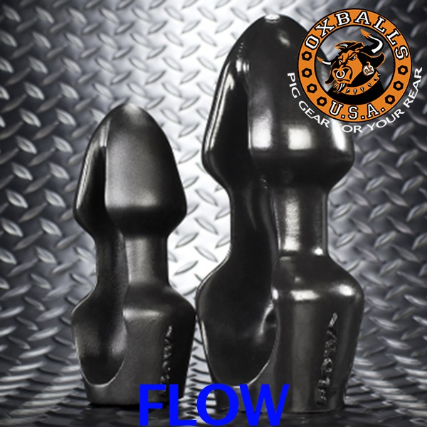 BUTTPLUG FLOW SILICONE by OXBALLS