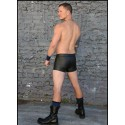 LEATHER SHORT MEAT PACKER Mr-S-LEATHER