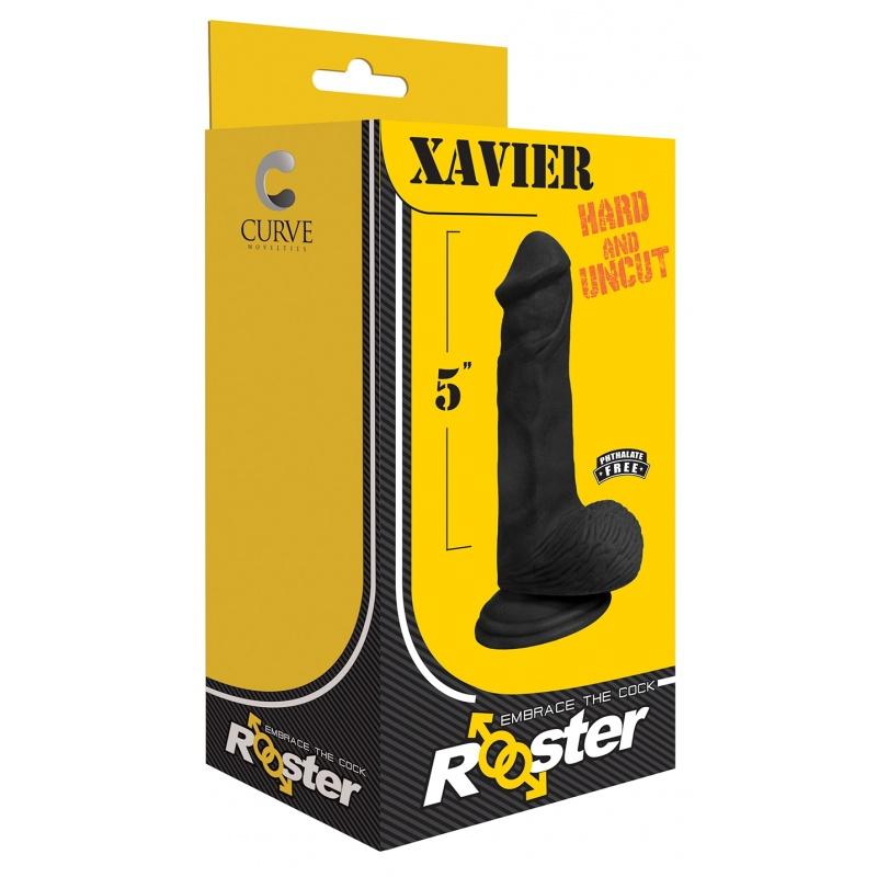 """REALISTISCHER DILDO 17 CM """"XAVIER"""" von ROOSTER"""