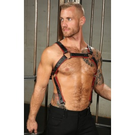LEATHER PIPED CROSSBOW BODY...