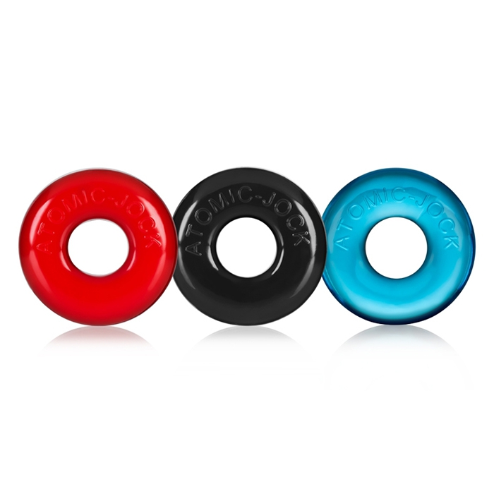 RINGER PACK 3 COCKRINGS FLEX TPR BY OXBALLS