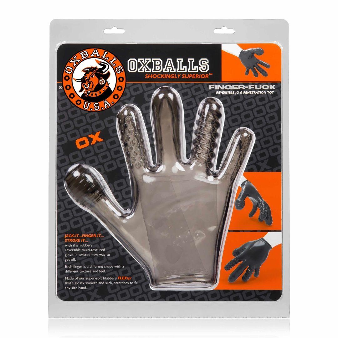 FINGER FUCK Textured Glove OXBALLS