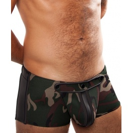 SHORT NEOPRENO MEATPACKING CAMUFLAJE by ROUGH TRADE GEAR
