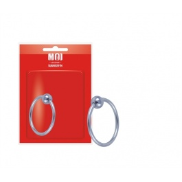THE CORONA STAINLESS STEEL HEAD RING WITH BALL by MOI SUBMISSION