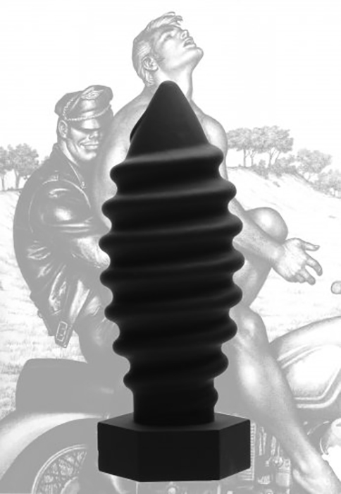 PLUG XL SILICONE 22CM SCREW U by TOM OF FINLAND