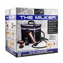MASTURBATEUR AUTOMATIQUE 2 CYLINDRES THE MILKER by LOVE BOTZ