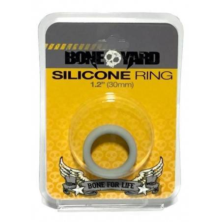 3X STRETCH SILICONE COCKRING by BONEYARD