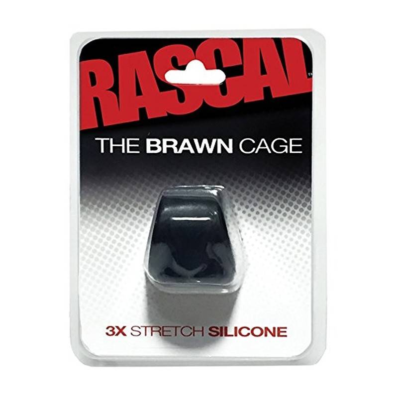 COCKSLING SILICONE 3X STRETCH BRAWN CAGE by RASCAL