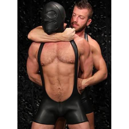 CAGOULE INTEGRALE BANDEAUX AMOVIBLES NEOPRENE SENSORY by MISTER S LEATHER