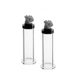 PAIR OF NIPPLE CYLINDERS by...