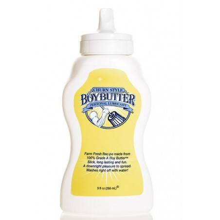 LUBRICANTE BOY BUTTER ORIGINAL A BASE DE ACEITE 266ML