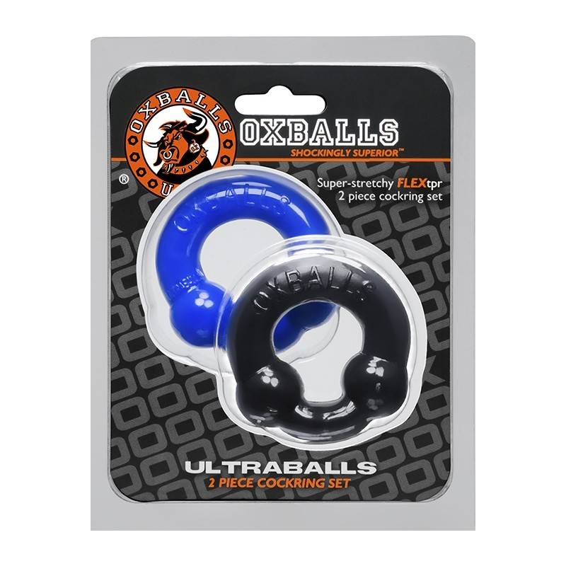 SET 2 COCKRINGS FLEX TPR ULTRABALLS by OXBALLS