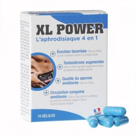 STIMULANT SEXUEL XL POWER 10 GELULES BY LABOPHYTO