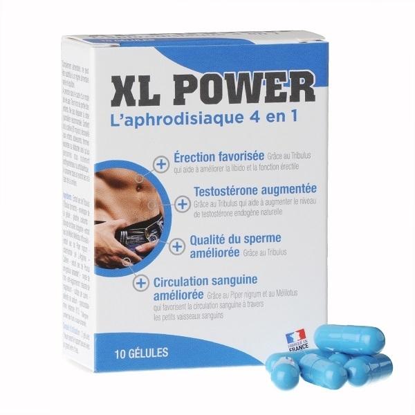 ESTIMULANTE SEXUAL XL POWER 10 CAPSULAS BY LABOPHYTO