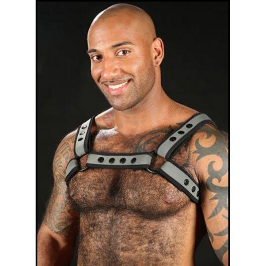 FETISH & BDSM, Hard and BDSM, Harness, Mr. S Leather, Mr S Leather Harness, Neoprene, Neoprene harness