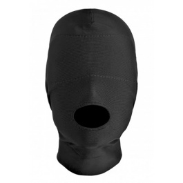 DISGUISE OPEN MOUTH SPANDEX HOOD WITH PADDED BLINDFOLD BY XR BRANDS