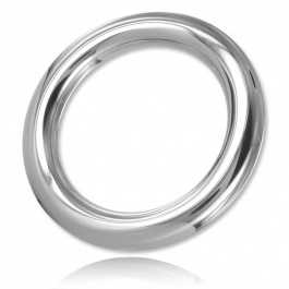 STAINLESS STEEL 10MM COCKRING ROUND WIRE VON DARK LINE