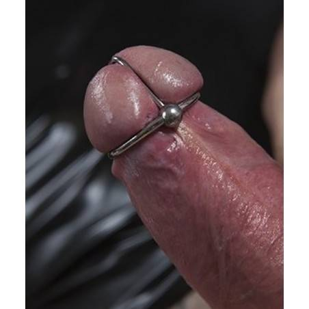 STAINLESS STEEL HEAD RING WITH BALL ZE BALL RING
