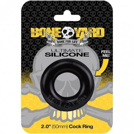SUPER SOFT SILICONE DONUT COCKRING ULTIMATE BY BONEYARD