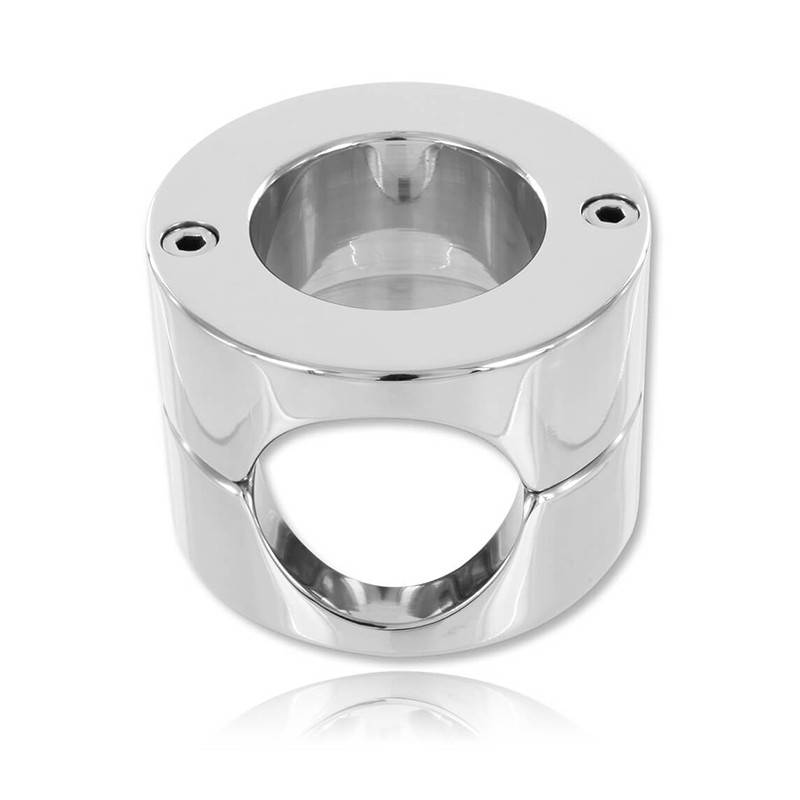 COCKRING BALLSTRETCHER EN ACIER INOXYDABLE ZE TOTAL RING BY DARK LINE